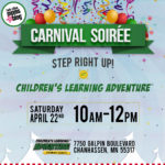 {Event Announcement} Children's Learning Adventure Carnival Soirée
