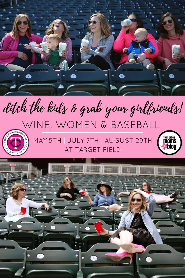 Minnesota Twins' Wine Women & Baseball | Twin Cities Moms Blog