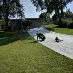 An Epic DIY Slip 'n Slide