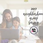 2017 Neighborhood Groups Survey