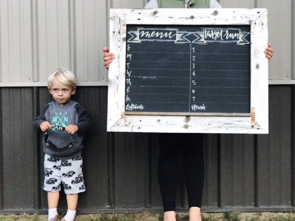 DIY Menu Board Ideas | Twin Cities Moms Blog