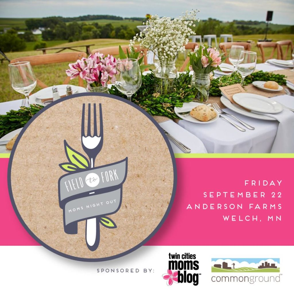 Field to Fork Moms Night Out | Twin Cities Moms Blog