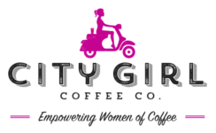 CITY GIRL Logo Pink TAGLINE