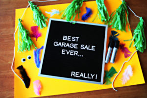 Tips for Putting on a Successful Garage Sale | Twin Cities Moms Blog
