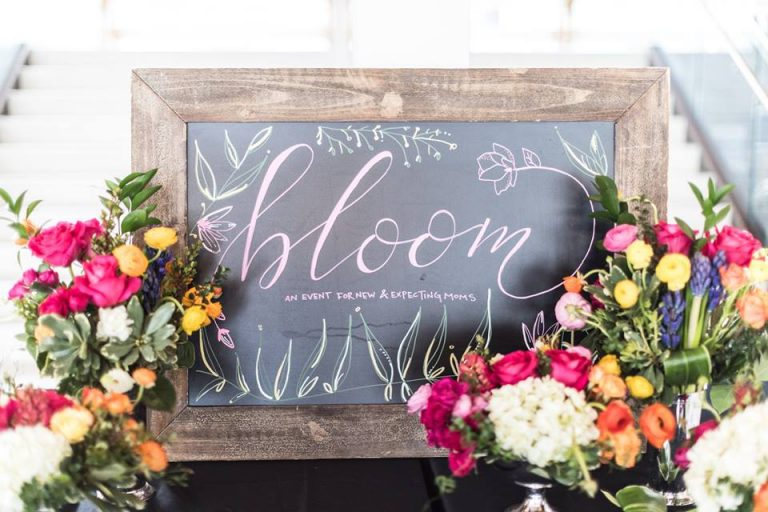 6th Annual Bloom Event for New and Expecting Moms