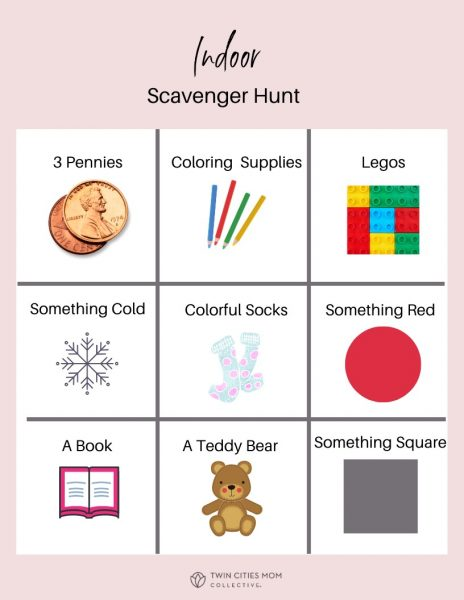 Scavenger Hunt | Twin Cities Mom Collective
