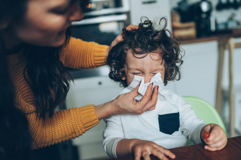 Managing Sickness as a Working Mom