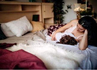 mother nursing child