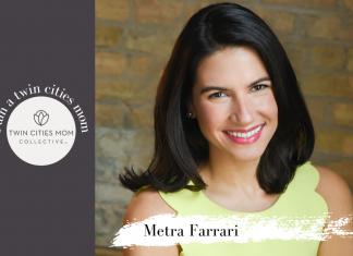 I am a Twin Cities Mom- Metra Farrari